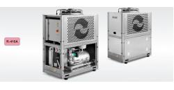 Тепловые насосы воздух/вода серии VA мощностью 44,7-128 кВт.Чиллеры воздух/вода серии A мощностью 41,1-119 кВт