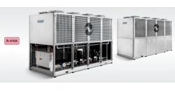 Тепловые насосы воздух/вода серии VA мощностью 145-258 кВт.Чиллеры воздух/вода серии A мощностью 132-235 кВт