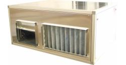 Канальная приточно-вытяжная установка для централизованной вентиляции с рекуперацией тепла FC