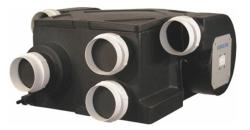 Канальное приточно-вытяжное устройство для централизованной вентиляции с рекуперацией тепла WH400